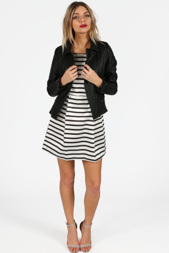 thalia-monochrome-striped-box-pleat-skater-dress-7