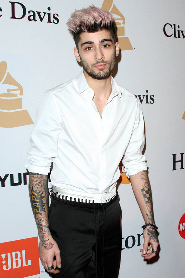 Clive Davis 2016 Pre-Grammy Gala held at the Beverly Hilton Hotel Featuring: Zayn Malik Where: Los Angeles, California, United States When: 14 Feb 2016 Credit: Adriana M. Barraza/WENN.com
